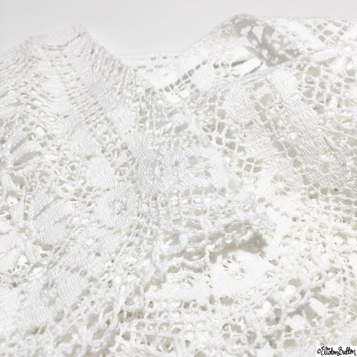 Day 18 - White - White Lace - Photo-a-Day - January 2016 at www.elistonbutton.com - Eliston Button - That Crafty Kid – Art, Design, Craft and Adventure.