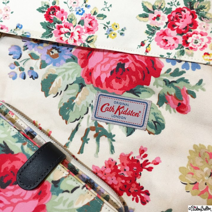 Day 20 - Patterns - Cath Kidston Bloomsbury Bouquet Floral Print Bag and Large Purse - Photo-a-Day - January 2016 at www.elistonbutton.com - Eliston Button - That Crafty Kid – Art, Design, Craft and Adventure.