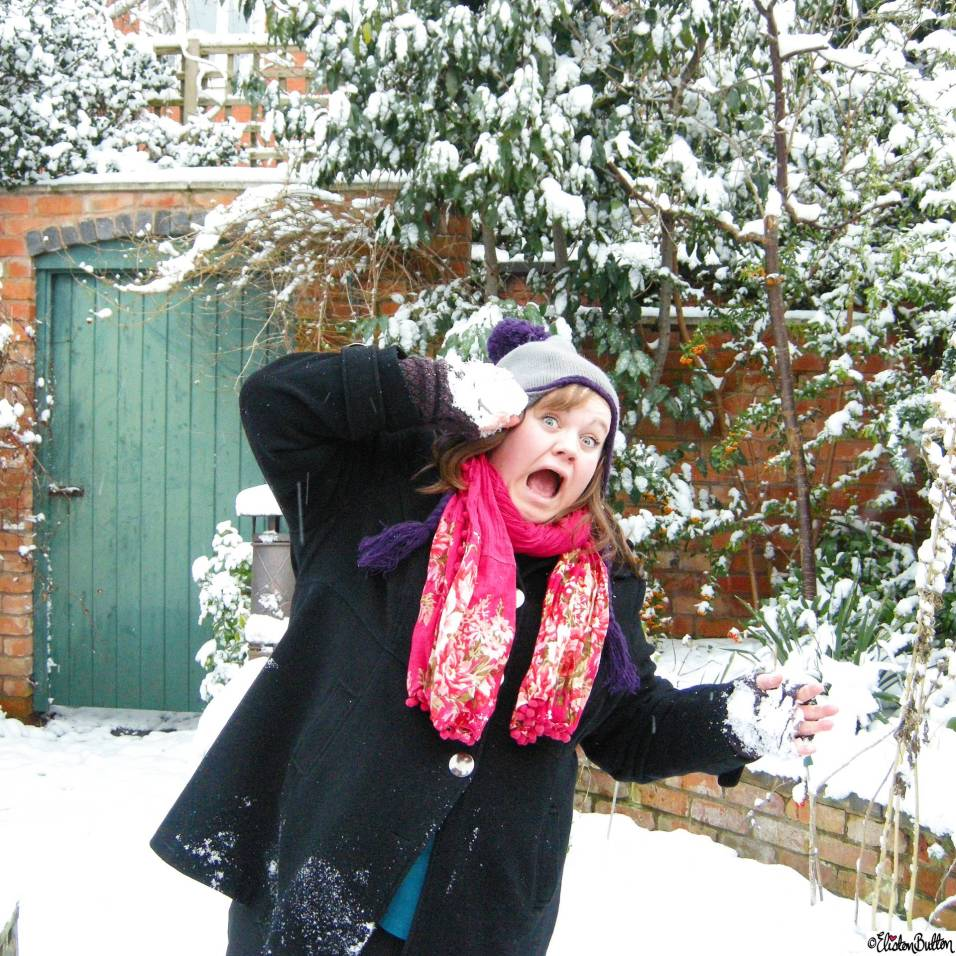 Day 17 - Throw It - Snowball Fight- Photo-a-Day – March 2016 at www.elistonbutton.com - Eliston Button - That Crafty Kid – Art, Design, Craft & Adventure.