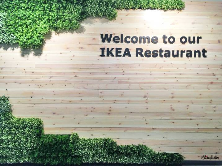 Faux Leafy Moss Wall in the Restaurant Entryway at IKEA, Coventry - The Patterns and Colours of IKEA at www.elistonbutton.com - Eliston Button - That Crafty Kid – Art, Design, Craft & Adventure.