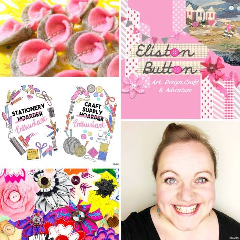 My Meet the Maker Week by Eliston Button at www.elistonbutton.com - Eliston Button - That Crafty Kid – Art, Design, Craft & Adventure.