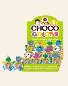 Choco Colors Display 50g