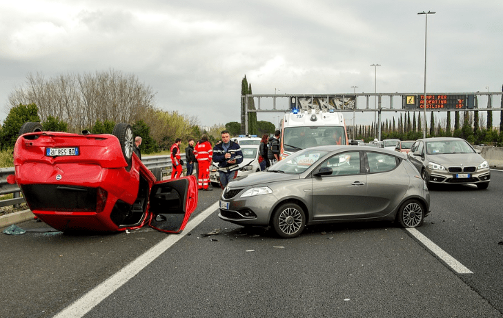 a rollover accident