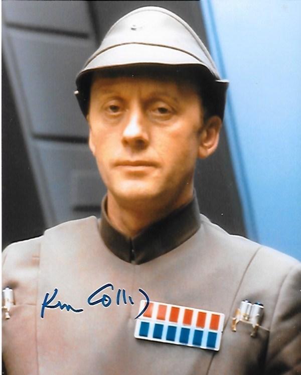 Ken Colley Signed Admiral Piett 10x8