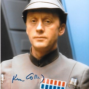 Ken Colley Signed Admiral Piett 10x8
