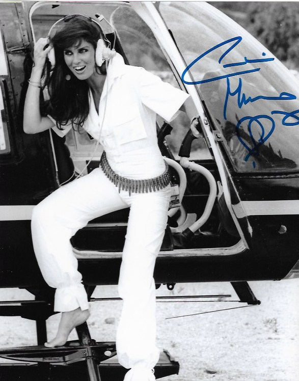 Caroline Munro James Bond Signed 10x8