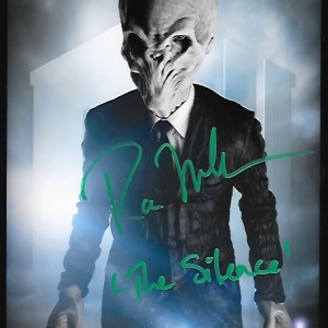 Ross Mullan Signed The Silence 10x8