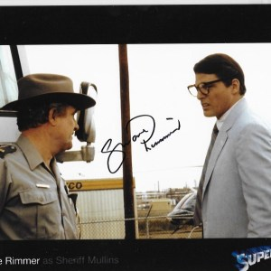 Shane Rimmer Signed Superman 3 10x8