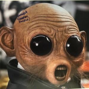 Kiran Shah Signed Neepers Panpick The Last Jedi 11x14