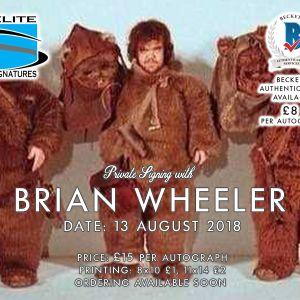 Add Brian Wheeler to your 16x20 Celebration Print