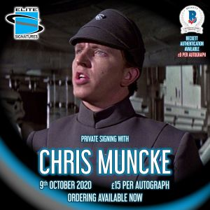 Chris Muncke Private Signing