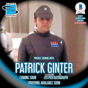 Patrick Ginter Private Signing