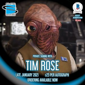 Tim Rose Private Signing