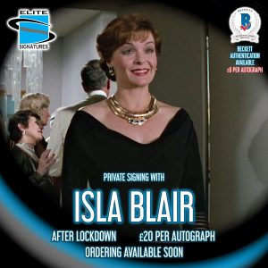 Isla Blair Private Signing