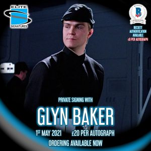 Glyn Baker Private Signing