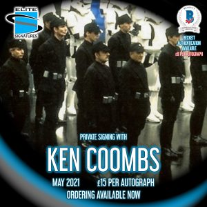 Ken Coombs PRivate Signing