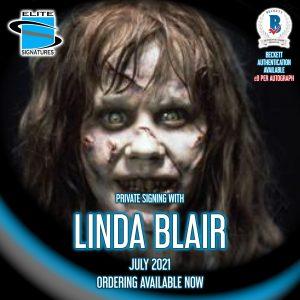 Linda Blair Private Signing