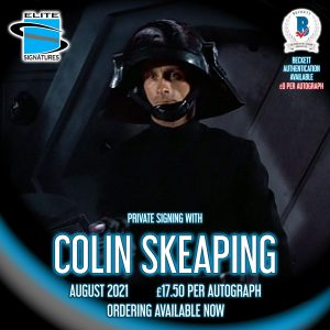 Colin Skeaping Private Signing