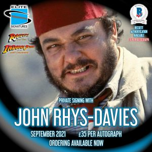 John Rhys Davis Private Signing
