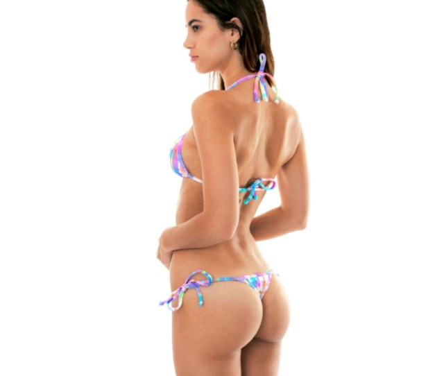 This Multicolored Micro Bikini Also Known As Thong Belongs To The  Collection By The Known Brand Rio De Sol And Its Made In Brazil