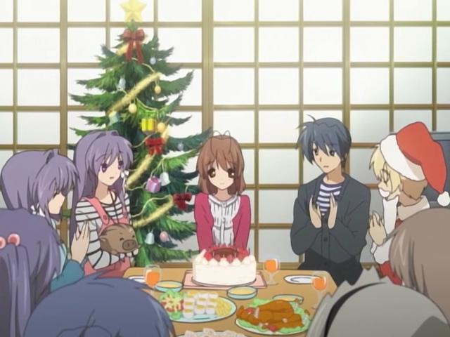 Image result for clannad after story christmas episode 9