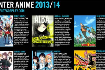 Winter 2014 Anime Lineup