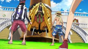 Meeting Shiki (One Piece:Strong World)