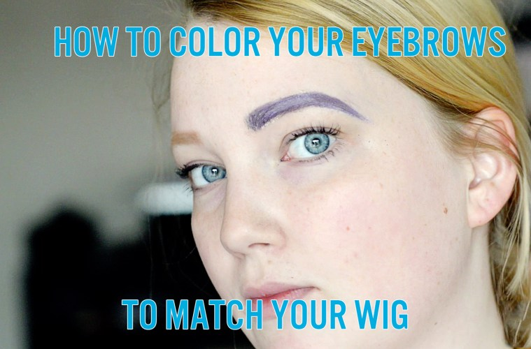 How To Color Eyebrows Cosplay