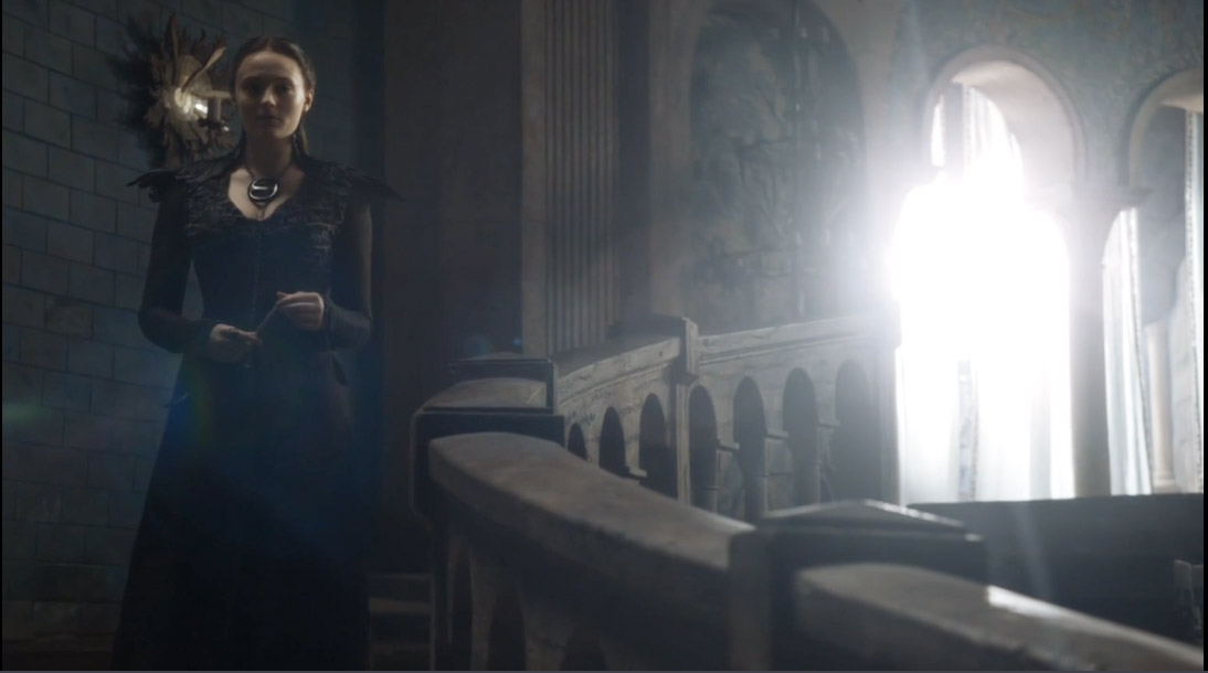 Sansa New Outfit