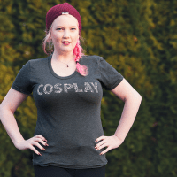 Elite Cosplay, cosplay icon women's shirt