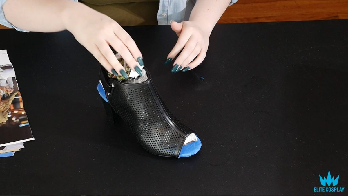 Cosplay Shoe Painting Tutorial