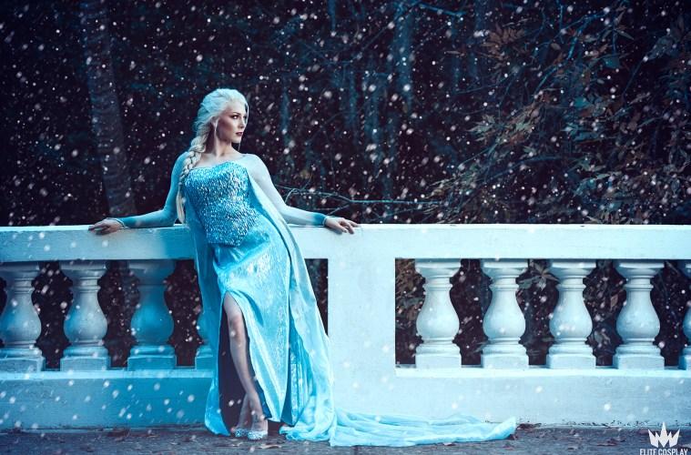 Elsa Cosplay Kristen Hughey