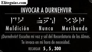 The Elder Scrolls V Skyrim Dawnguard Invocar A Durnehviir