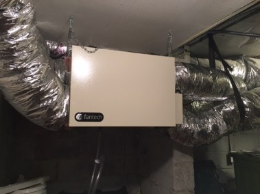 Energy Recovery Ventilation (ERV)