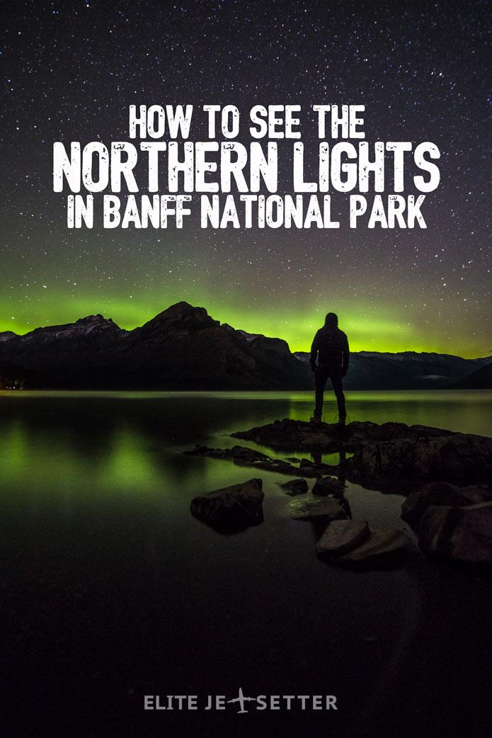 seeing northern lights banff