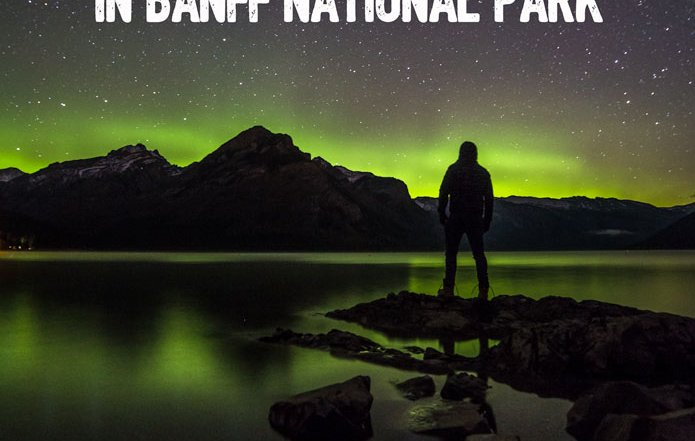 seeing northern lights banff