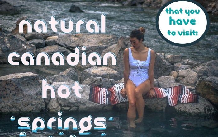 Natural Canadian Hot Springs