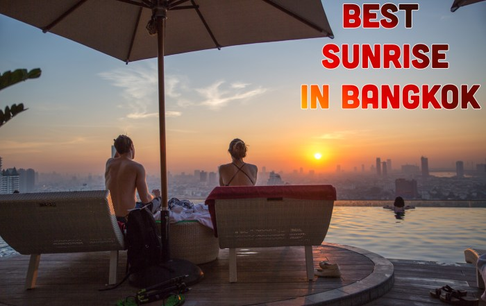 Best Sunrises in Bangkok