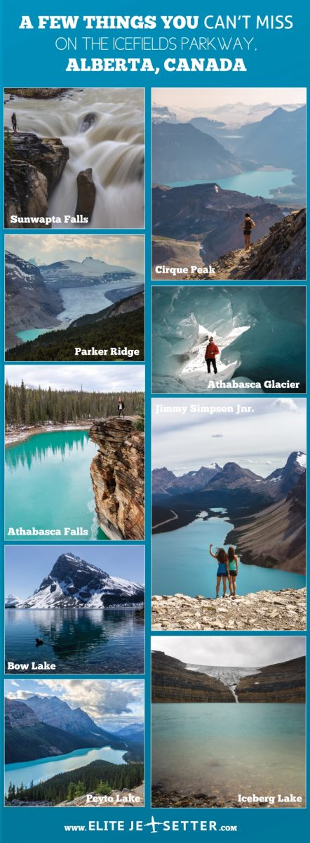 Icefields parkway banff canada