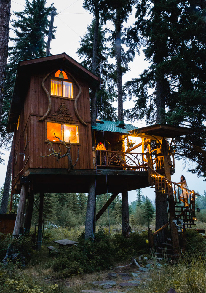 Treehouse hotel British columbia
