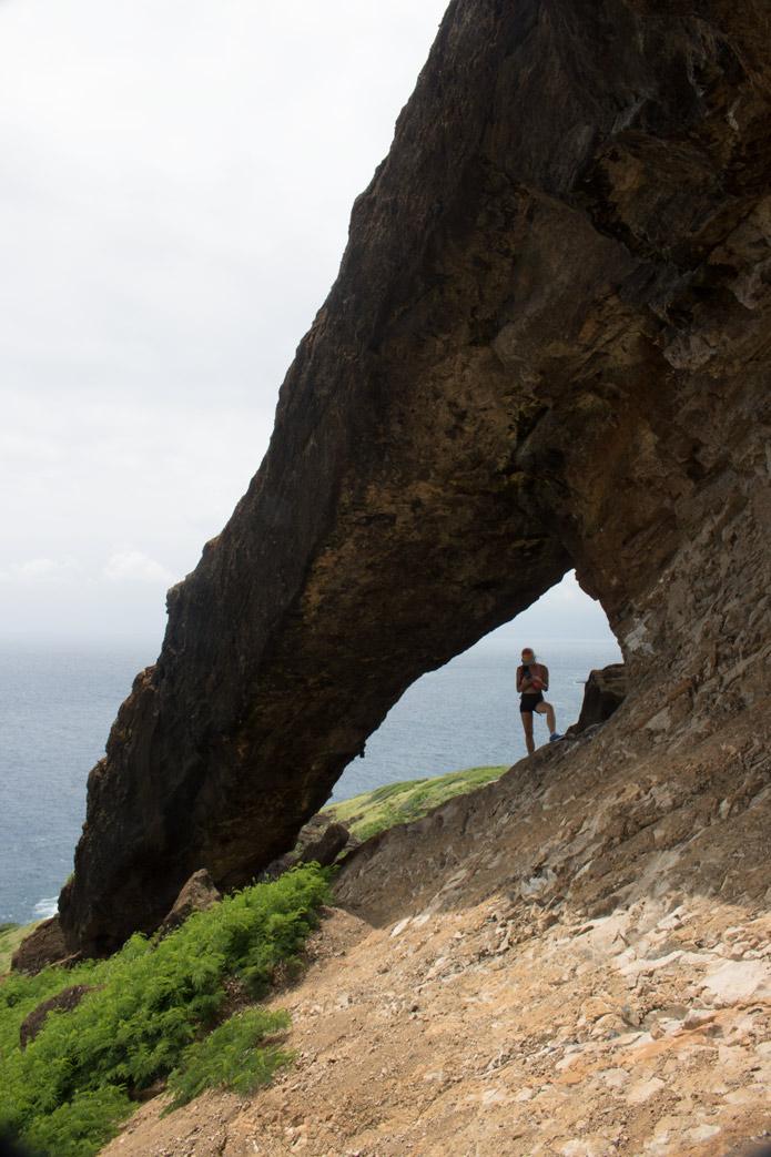 Koko Crater arch