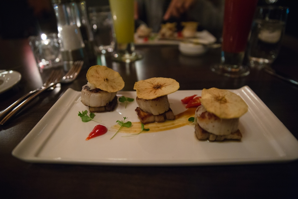 Pork and scallop buffalo lodge
