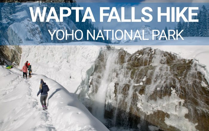 wapta falls hike yoho national park