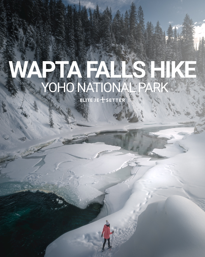 wapta falls hike yoho