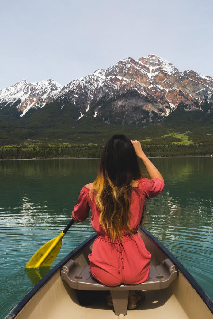 canoe jasper