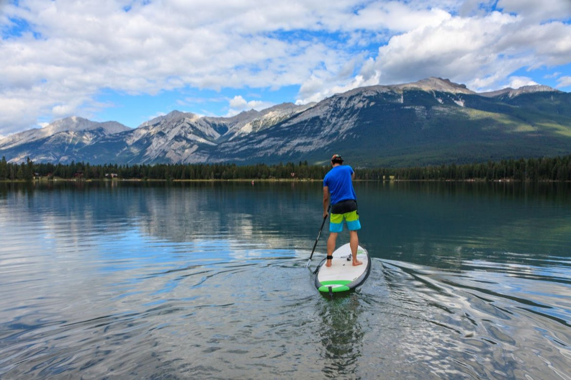 stand up paddleboard jasper