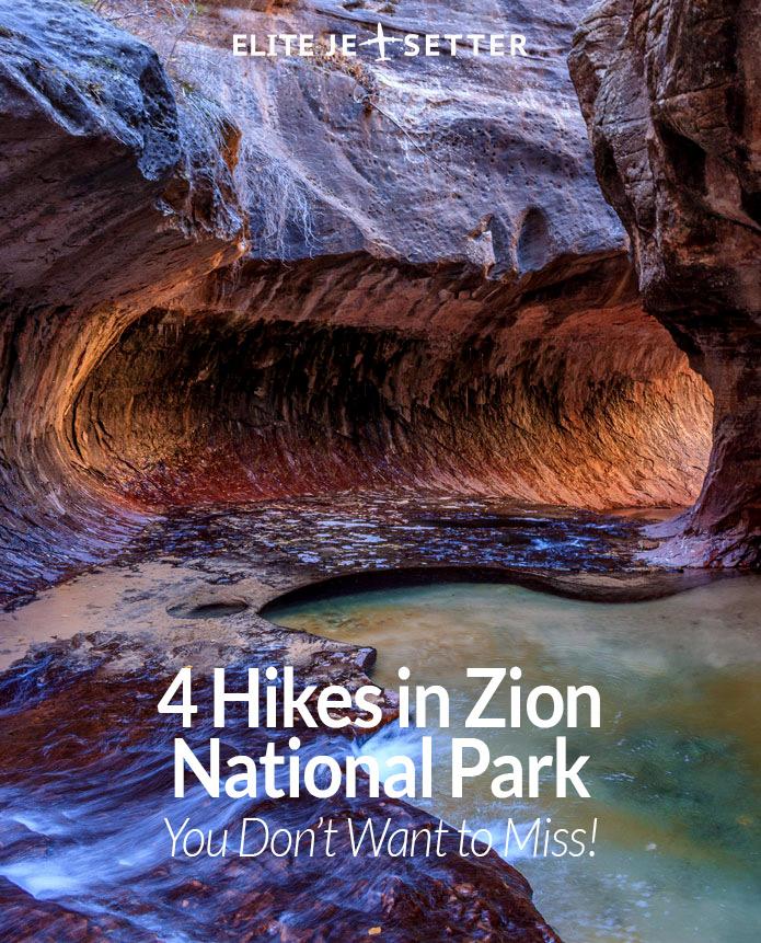 Zion subway hike
