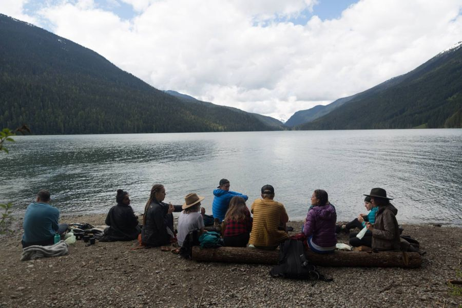 Cheakamus lake hike