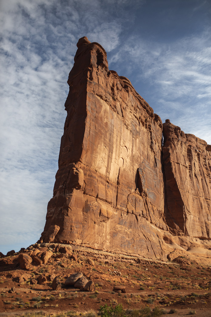 rocks in arches national park