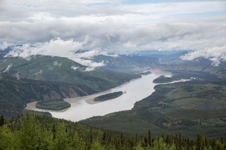 Midnight Dome Yukon Dawson City